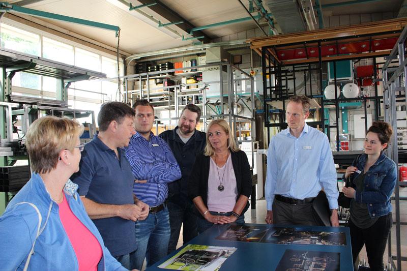 Interessanter Betriebsbesuch bei einer der letzten Wagnereien Deutschlands in Brombachtal