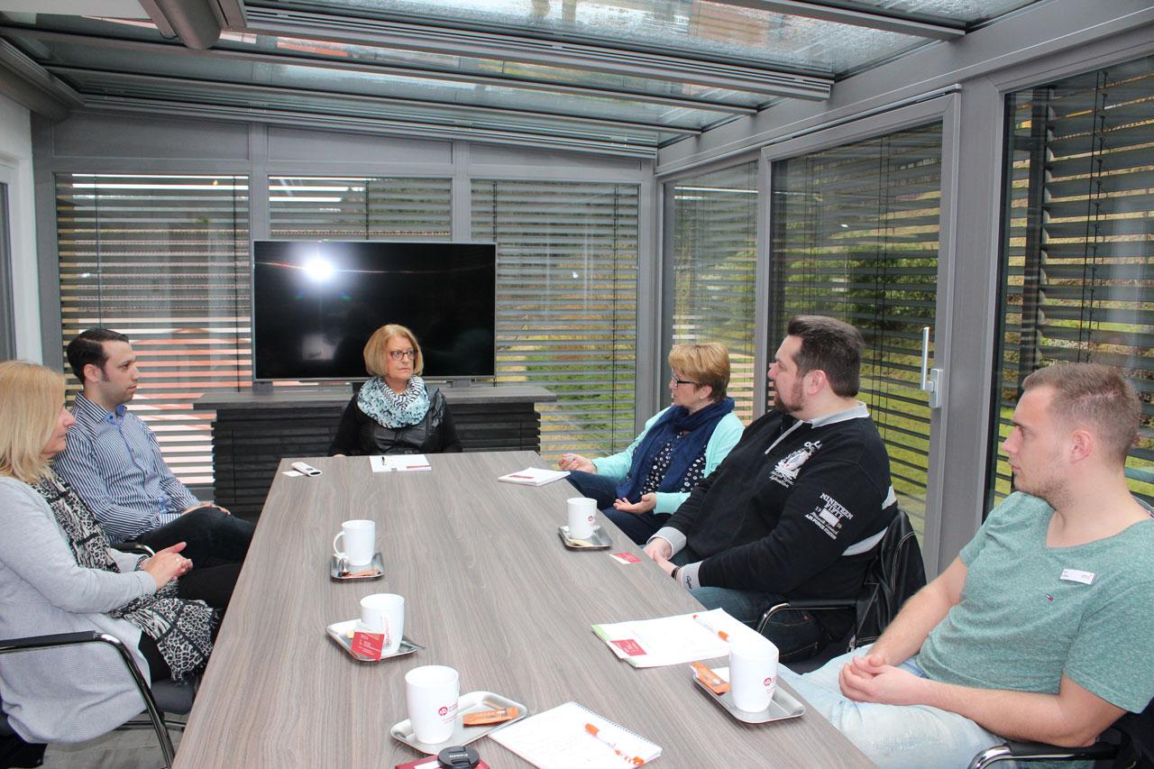 Kommunales Job-Center und InA gGmbH besuchten die Bechtold Fenster GmbH & Co KG