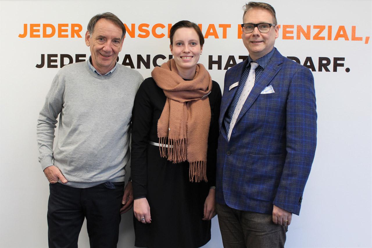"""InA gGmbH ebnet Kunden des KJC mit Maßnahme """"Work On"""" Wege aus der Langzeitarbeitslosigkeit"""